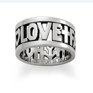 "James Avery ""Faith, Hope & Love"" Ring"